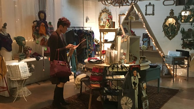 The third annual East West Pop Up Shop will be open Dec. 8-17 in West Asheville.