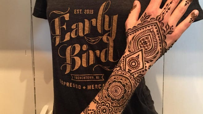 Catherine Lent Design is hosting Frenchtown's first Henna all-day Expo on March 25.