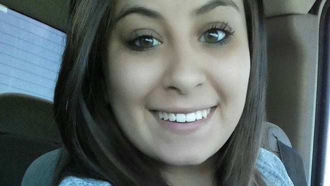Jazmin Renae Martinez, 20, was killed in a car accident on the Fourth of July, Tuesday in Carlsbad. `