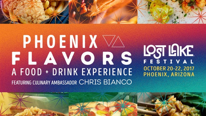 Phoenix Flavors will feature more than 25 local restaurants at the Lost Lake Festival.