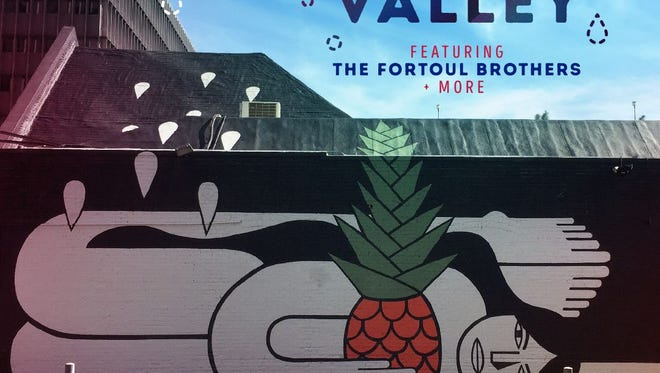 The Lost Lake Festival will feature murals by Phoenix's own Fortoul Brothers.