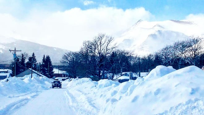 East Glacier has received 241 inches of snow this winter and more is forecast to fall this week.