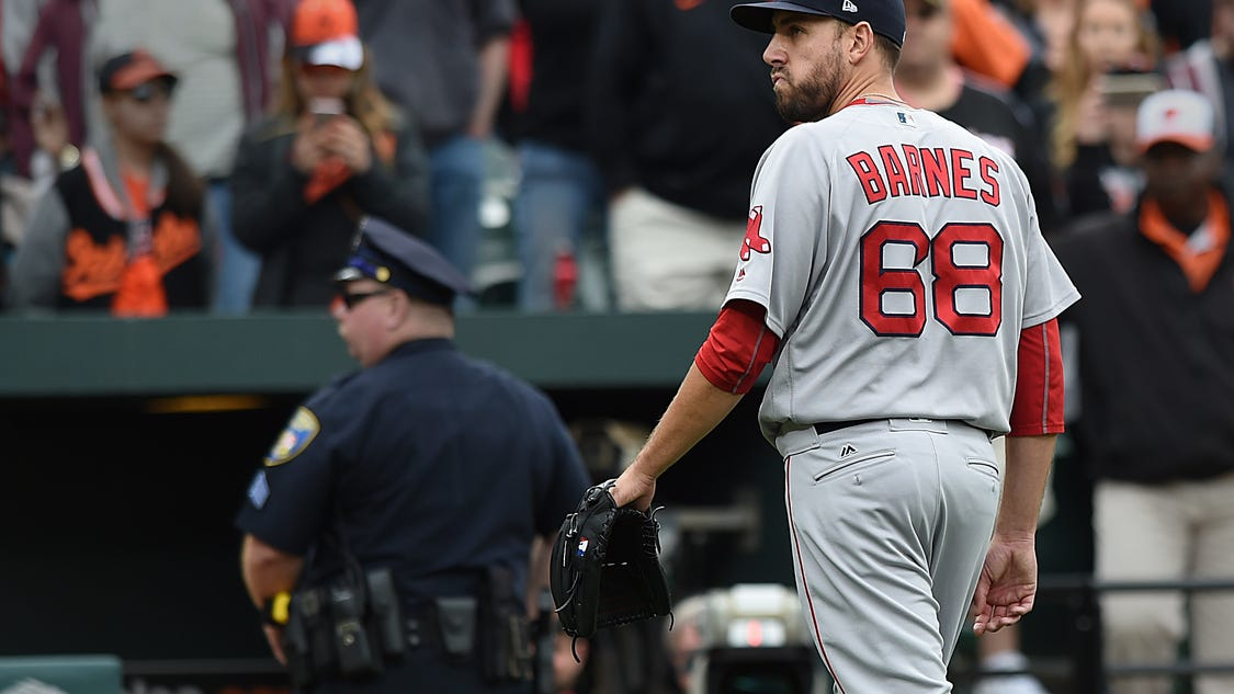 The escalating feud between the Red Sox and Orioles keeps getting dumber