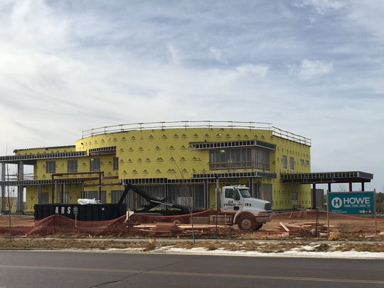 Reliabank is building a large, two-story, full-service