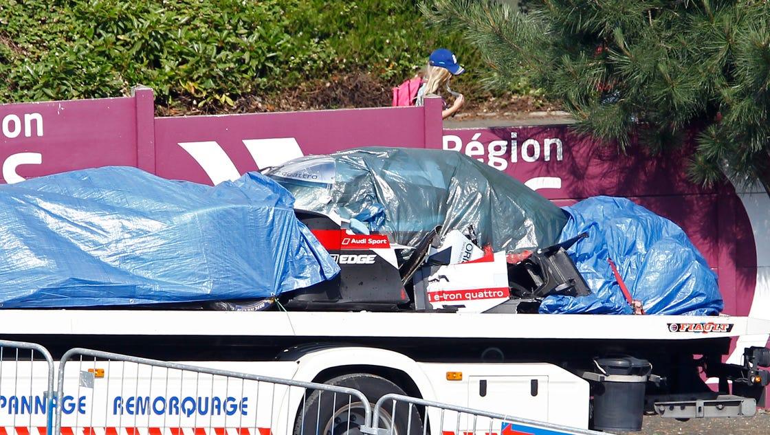 drivers describe horrible crash at 24 hours of le mans. Black Bedroom Furniture Sets. Home Design Ideas