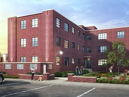 A developer plans to rehabilitate the former Jones Court Apartments in Elmira into affordable housing.