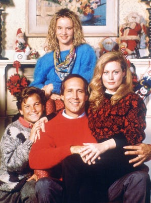 """What could go wrong with a Clark Griswold Christmas? Chevy Chase stars in """"National Lampoon's Christmas Vacation""""."""