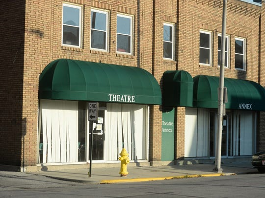 The Richmond Civic Theatre annex building is in the first block of South 10th Street in Richmond, just behind the theater at 10th and East Main streets.