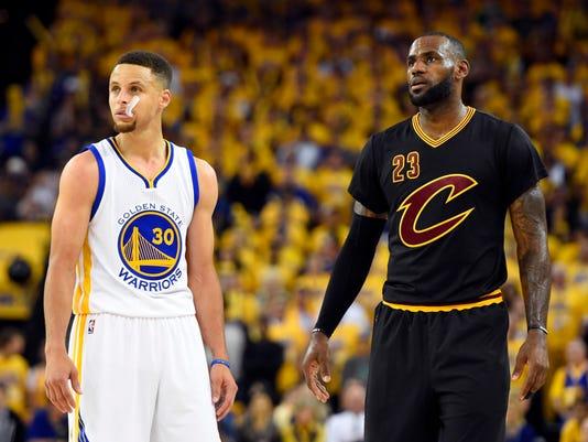 Stephen Curry LeBron James