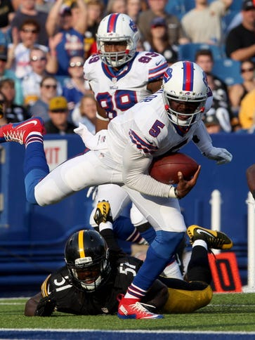 Tyrod Taylor one of the biggest surprises of the preseason.