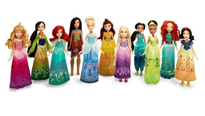 Hasbro has a line of Disney Princess dolls.