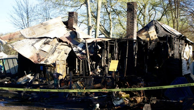 A home in the 400 block of Church Street in Gallatin is considered a total loss after a fire Tuesday, March 29.