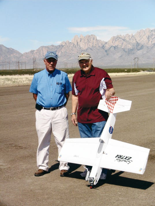 Model airplanes in Las Cruces