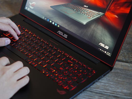 asus gaming laptop power and portability. Black Bedroom Furniture Sets. Home Design Ideas