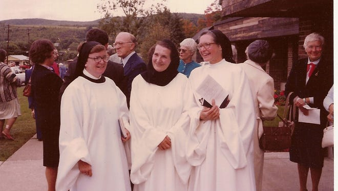 From left: Sister Mary Donald, Sister Placed and Sister Jeanne-Marie.