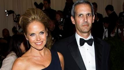 """In this May 6, 2013, file photo, TV personality Katie Couric, left, and John Molner attend The Metropolitan Museum of Art's Costume Institute benefit celebrating """"PUNK: Chaos to Couture"""" in New York. Couric has married Molner in a small ceremony at her East Hampton home. People magazine reports the former ?TODAY? host and Molner took the vows on Saturday, June 21 in front of 50 guests."""
