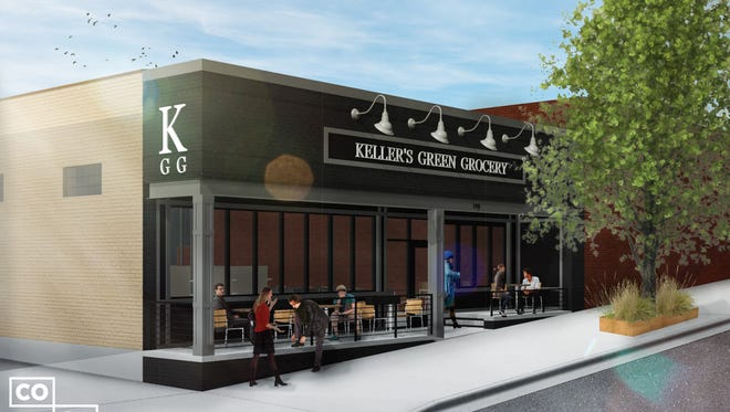 Keller's Green Grocery is planned for the former Ming Wah Cafe space.