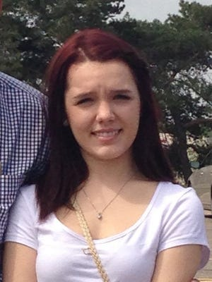 14 year old Armada resident April Millsap, spring of 2014.  She was murdered July 24, 2014. Photo provided by the family