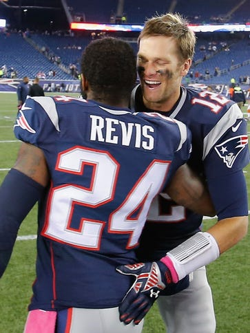 Darrelle Revis and Tom Brady were teammates in New