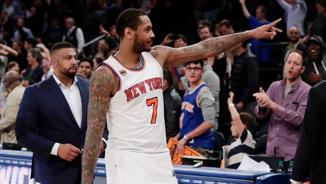 Without Carmelo Anthony, the Knicks certainly will take a step back, so far unable to bring anything close to an equal return.
