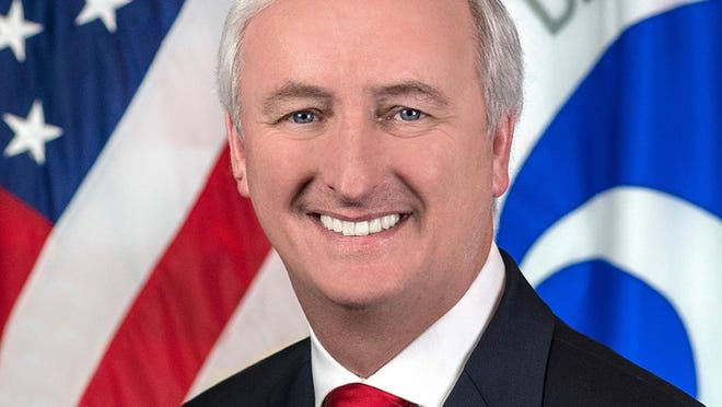 In this image provided by the Department of Transportation, deputy transportation secretary Jeffrey Rosen is shown in his official portrait in Washington. President Donald Trump has nominated Rosen to be the next deputy attorney general.