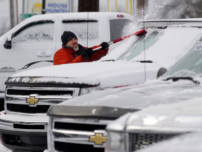 Snow day for Integrity motors group evansville in