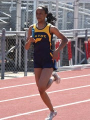 Wayne's Anavia Battle posted the best time in the 100-meter