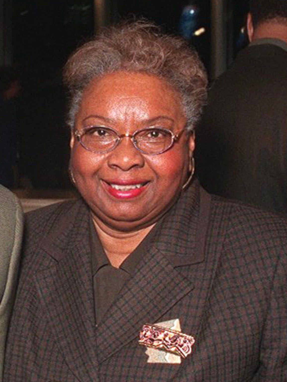 Alma Stallworth of Detroit in 2001.