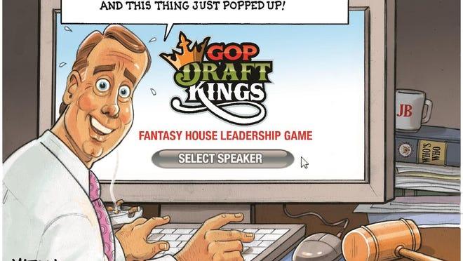 John Boehner Picks Next Speaker on DraftKings.com