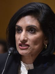 Seema Verma testifies before the Senate Finance Committee