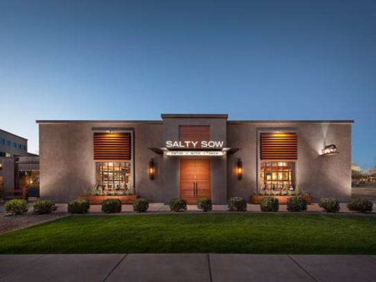 Exterior of Salty Sow.