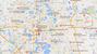 Location of some schools in Orlando.