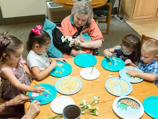 Desert Peaks Assisted Living & Memory Care resident