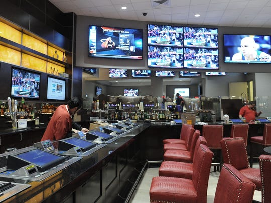 The Race & Sports Book at the Grand Sierra Resort, a William Hill property.