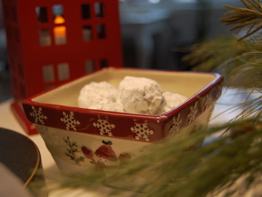 Chocolate eggnog truffles