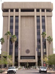 The Arizona State Capitol Executive Tower opened in