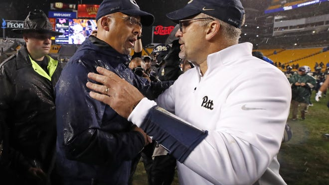 James Franklin and Penn State won't take the field this fall after the Big Ten postponed fall sports. Meanwhile, Pat Narduzzi and Pitt are hopeful the ACC will move forward with fall football as planned.