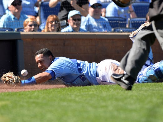 American League catcher: Salvador Perez, Royals (1st Golden Glove award)