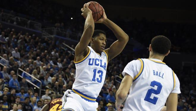 UCLA's Ike Anigbogu averaged 3.7 blocks per 40 minutes of play.