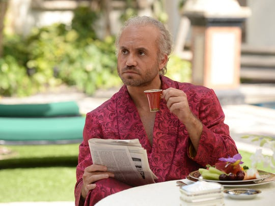 Edgar Ramirez plays iconic fashion designer Gianni Versace in FX's 'The Assassination of Gianni Versace: American Crime Story.'