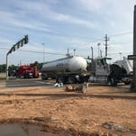 200 gallons of fuel spilled on busy highway in Bossier crash