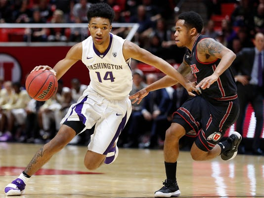 NCAA Basketball: Washington at Utah
