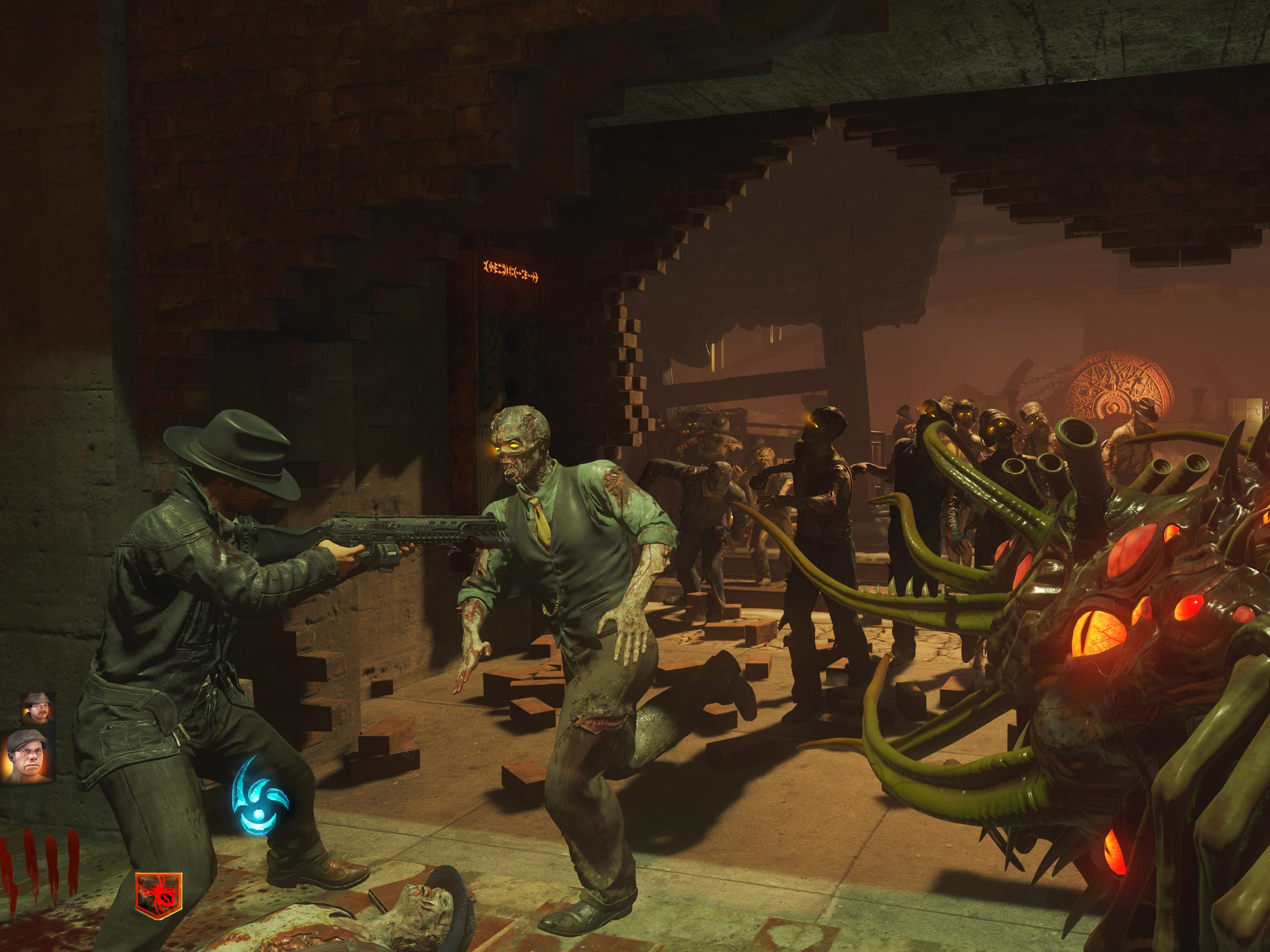 """Zombies mode in """"Call of Duty: Black Ops III"""" adds a noir-style story and the ability to transform into a monster."""