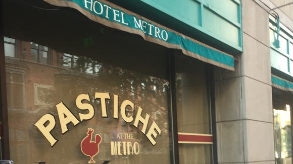 Pastiche at the Metro, the new restaurant in Hotel