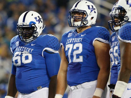 NCAA Football: Eastern Kentucky at Kentucky