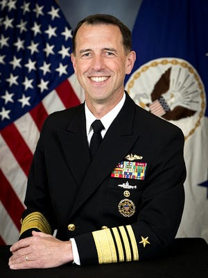 """Admiral John Richardson, the chief of naval operations, kept an officer on his staff for eight months after an investigator's report cited the officer's """"predatory"""" behavior with female officers."""