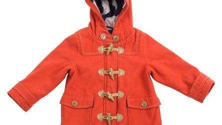 red coat for toddler girl