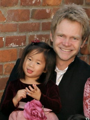 """This little one just grabbed my heart,"" Steven Curtis Chapman says about adopting his daughter Maria."