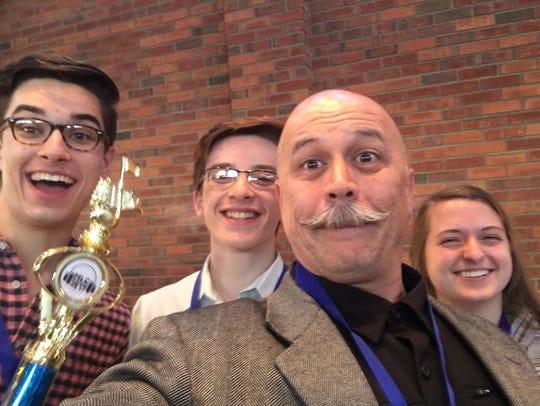 Pine View High School students, Jacob Wilde, James