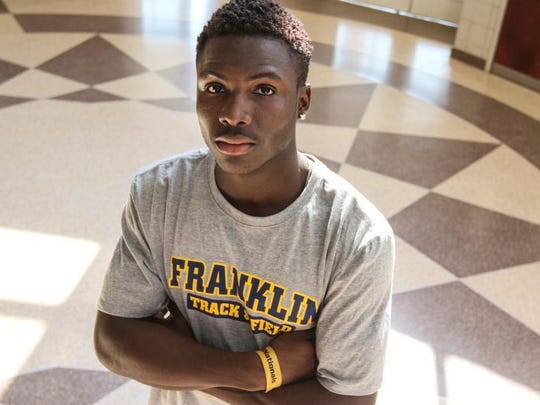 Franklin's Mario Heslop is the Courier News Boys Indoor Track Athlete of the Year.